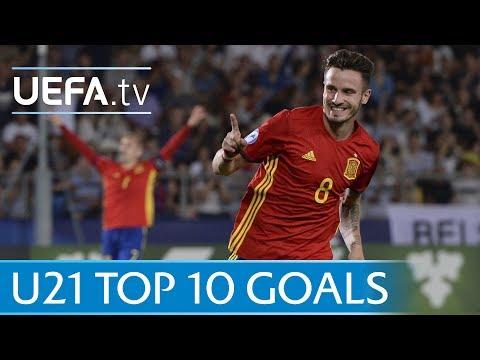 The top 10 goals of the 2017 U21s