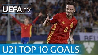 The top 10 goals of the 2017 U21s