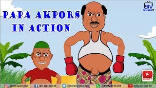 PAPA AKPORS IN ACTION (Splendid Cartoon)