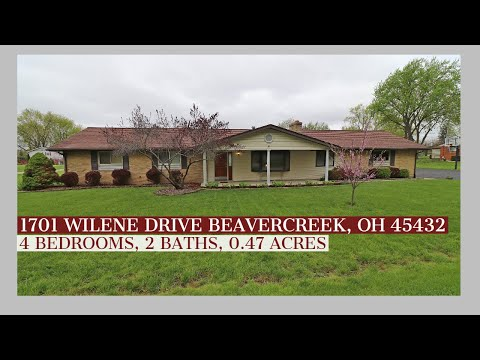 SOLD! 1701 Wilene Dr, Beavercreek, OH 45432 | 4 Bedrooms, 2 Baths, 2 Car Garage, 0.47 Acres