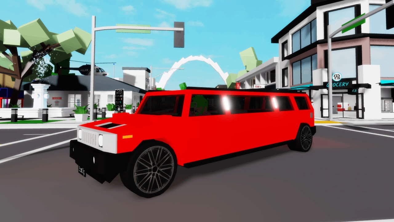 LUXERY UBER IN BROOKHAVEN! (Roblox)