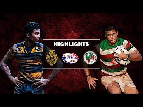 Match Highlights - Royal College v Zahira College Schools Rugby Cup #31