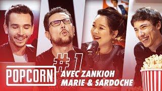 #01 - La PREMIÈRE de POPCORN ! (avec Sardoche, Marie Palot & Zank)