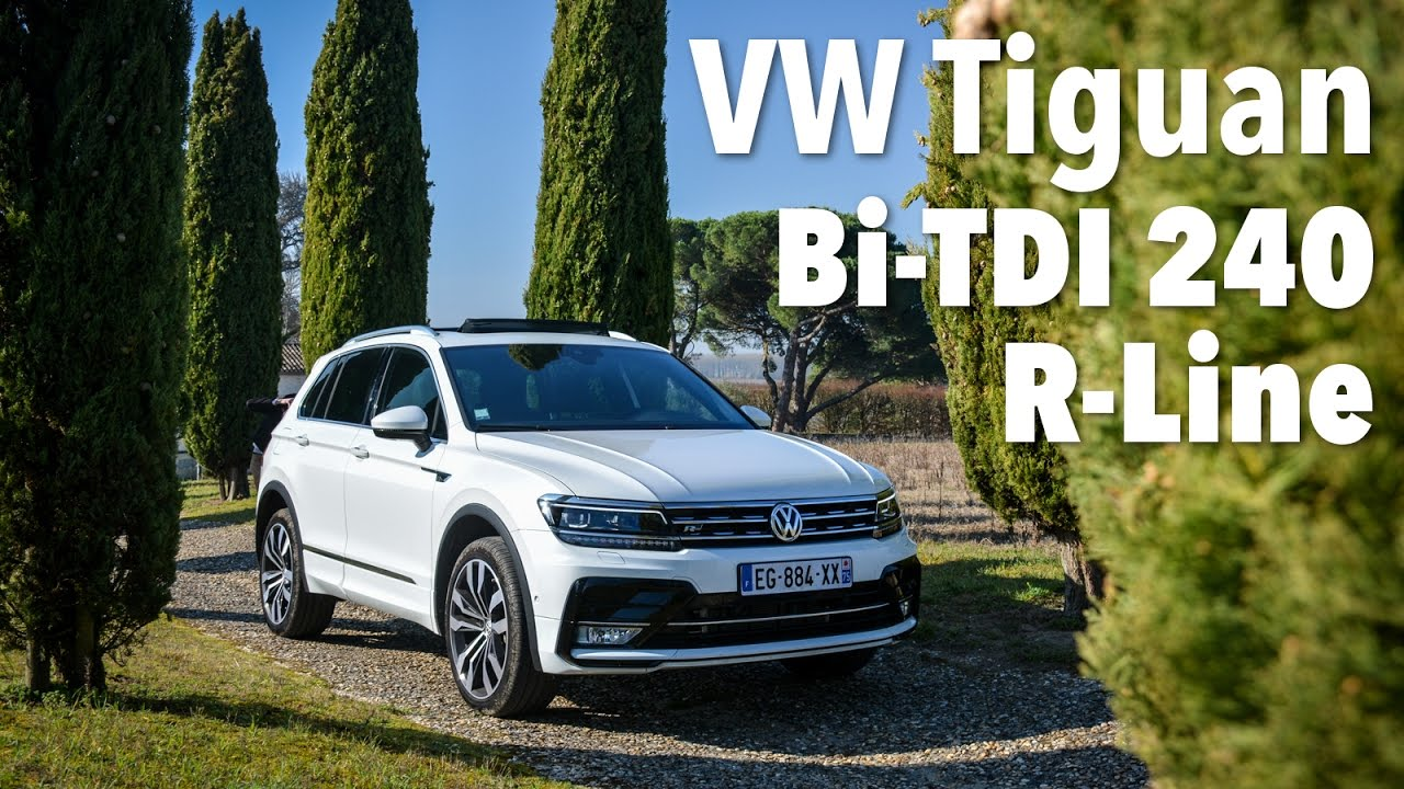 essai volkswagen tiguan bitdi 240ch rline youtube. Black Bedroom Furniture Sets. Home Design Ideas