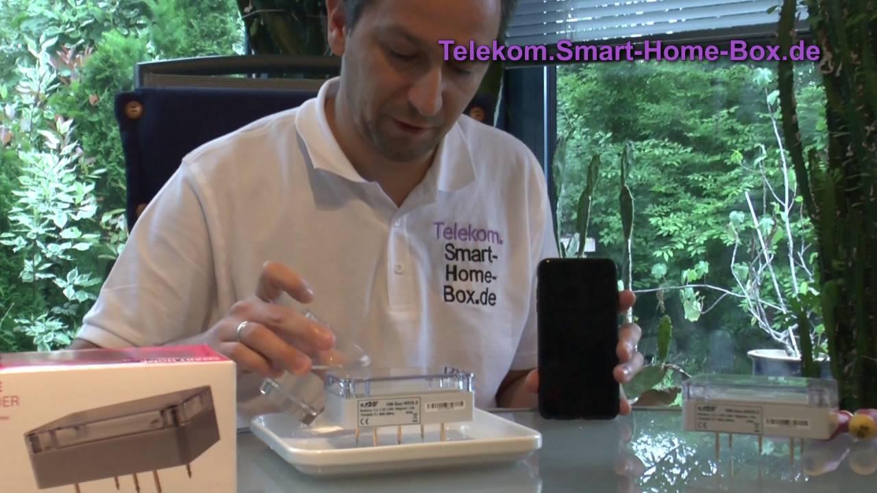 einrichtung wassermelder telekom magenta smarthome qivicon youtube. Black Bedroom Furniture Sets. Home Design Ideas