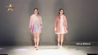 Показ    MILLA BERILLO, St Petersburg Fashion Week, Осень Зима  2016 17