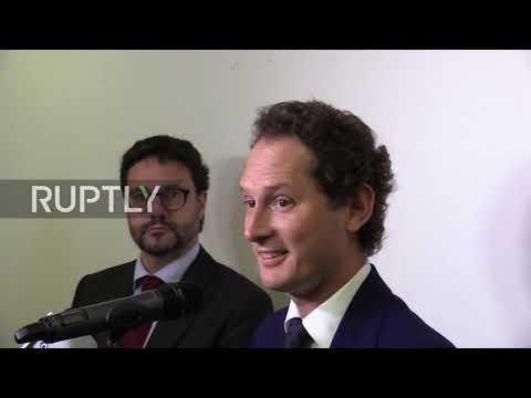 Italy: We acted with courage - FCA boss Elkann comments proposal for merger with Renault