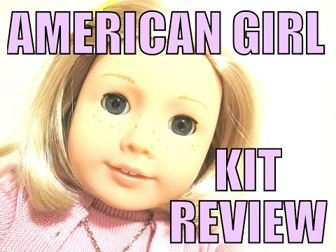 MY VERY FIRST AMERICAN GIRL DOLL OPENING AND REVIEW OF KIT KITTREDGE