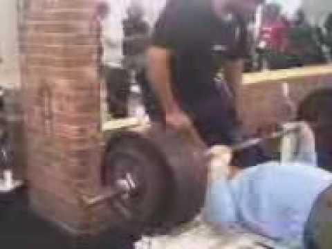 200kg bench steve o'donnell luton