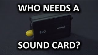 Fiio Olympus E10 Headphone Amp & DAC Unboxing & Overview