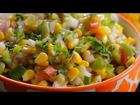 AMERICAN CORN SALAD | Healthy Tasty American Corn Salad | The Best Corn Salad