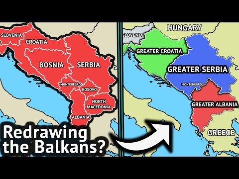 A New Discussion on Greater Serbia, Greater Albania, and Greater Croatia in the Balkans