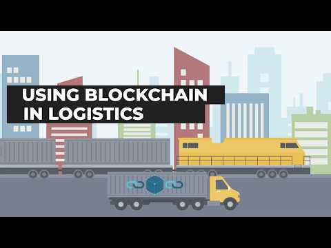 How will blockchain be used in supply chain logistics ? | Zmodal