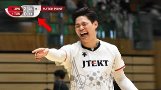 The Day When Japan Volleyball Team Showed Who is the BOSS !!!
