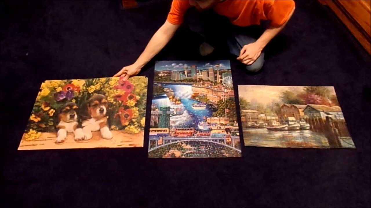 Where Can I Hang My Jigsaw Puzzles On My Wall Youtube