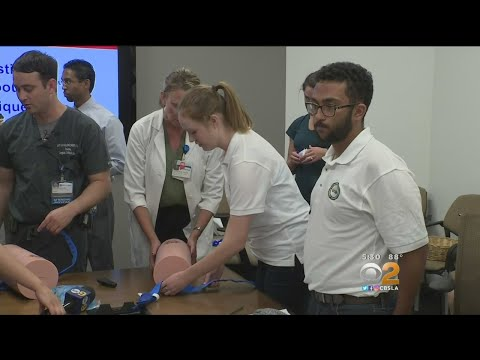 Students Learn Life-Saving Tips From Santa Ana Officer Who Helped Vegas Victims