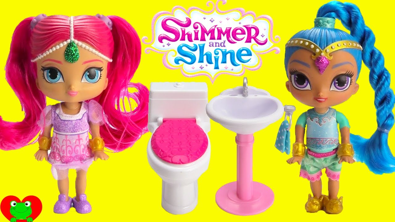 Shimmer And Shine Bedtime Routine Youtube