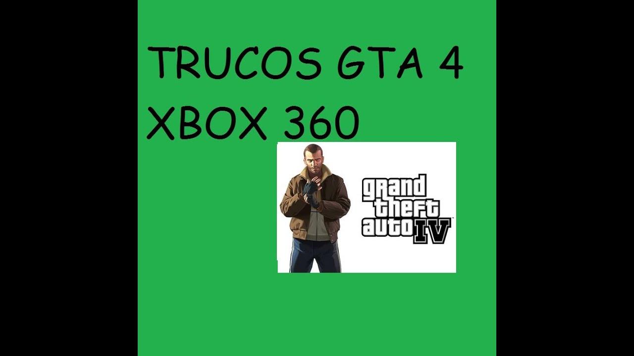 Trucos Gta 4 Xbox 360 Youtube