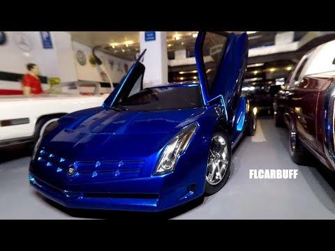 1/18 Cadillac Cien Rare Blue Gold Review Hotwheels