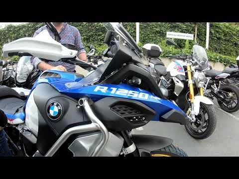 BMW R 1250 GS Adventure HP with many HP Parts Installed