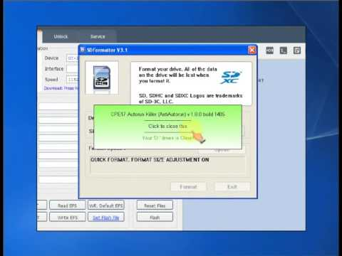 BST Best Smart Tool Make Sd card Repair boot