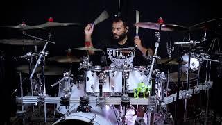 Slayer - Mind Control (Drum Cover) Romão Neto