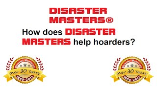 How can Disaster Masters help me?
