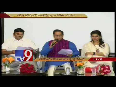 T. Subbarami Reddy announces 'TSR-TV9 National Film Awards' winners list - TV9