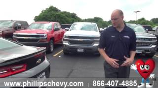 Phillips Chevrolet - 2017 Chevy Camaro V6 - Exterior - Chicago New Car Dealership