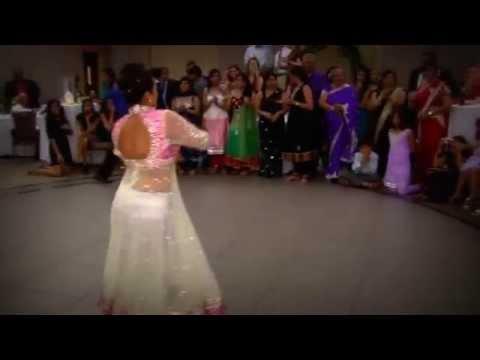 Kristi's Dance at Kishan's Wedding! Indian Wedding Dance Medley of Songs!