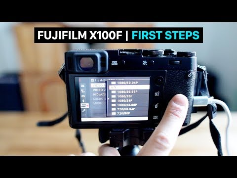 Fujifilm X100F for beginners | user guide | tutorial | best settings | movie mode | English