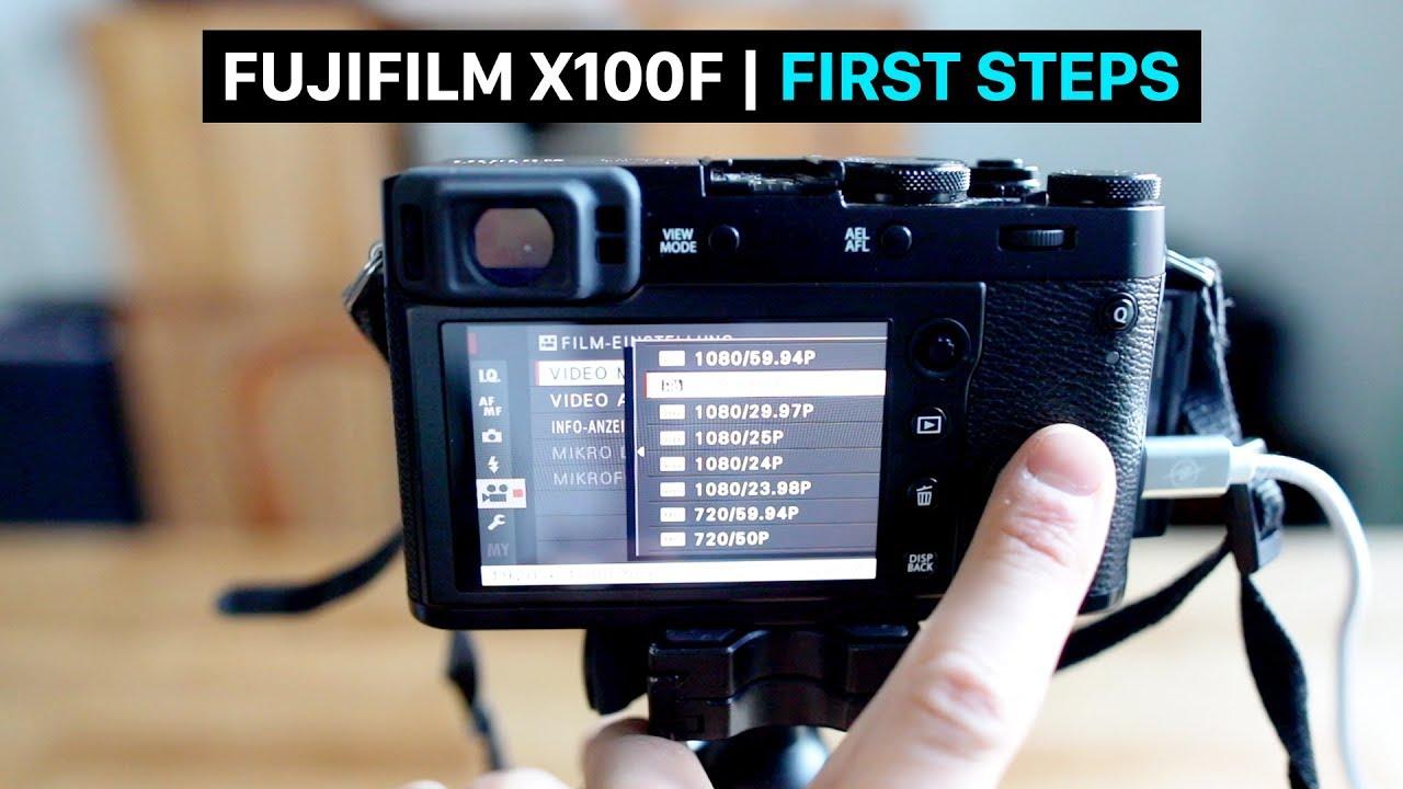 Fujifilm X100F for beginners   user guide   tutorial   best settings    movie mode   English