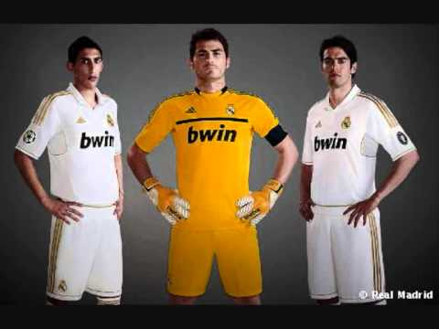 15dbc3aa7 New Real Madrid Home Kit 2011-2012 - YouTube