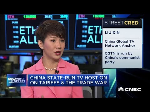 Watch CNBC's full interview with CGTN host Liu Xin