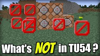 Minecraft PS4 - Whats NOT in TU54 ? All Unconfirmed Items - Xbox / PS3 / Wii U / Switch