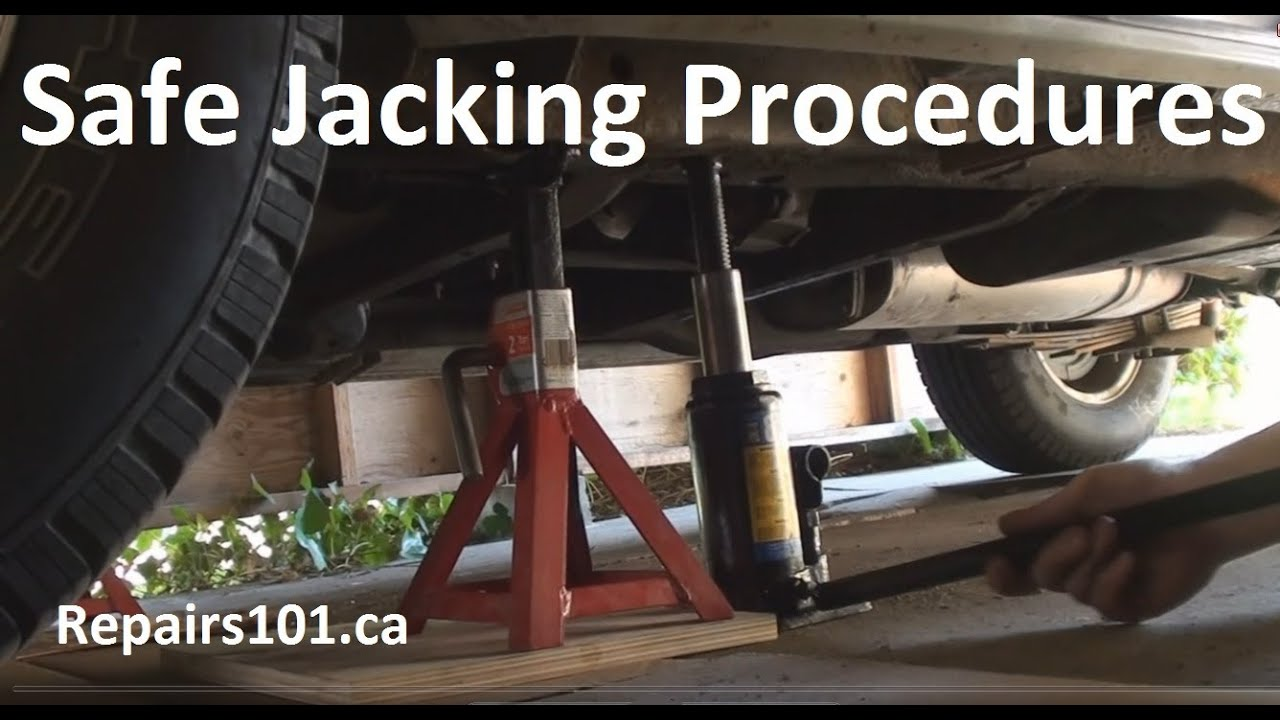 Auto Safe Jacking Procedures Youtube
