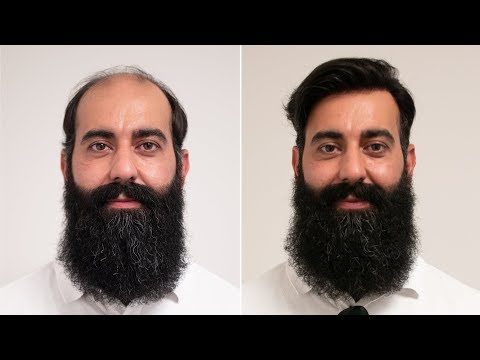 Barber Hair & Beard Look 2018 | Transformation with Haarsystem | Hairsystems Heydecke