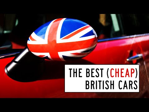 The Best of Britain for Less than $10,000: Window Shop with Car and Driver