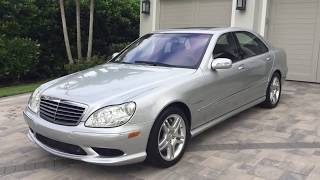 2003 Mercedes Benz S55 AMG Review and Test Drive by Bill   Auto Europa Naples MercedesExpert com