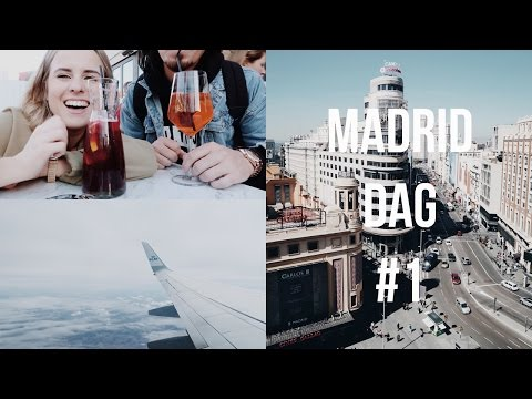 TRAVEL VLOG Madrid dag 1 / Hoe Mooi Is Ons Uitzicht?? | Billie Rose