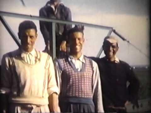 Le travail à la ferme au Maroc en 1955