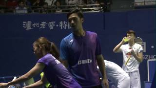 China Masters 2017 | Badminton F M4-XD | Liao/Chen vs Wang/Huang