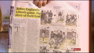 England's 1,000 international football games in 147 years - BBC News -