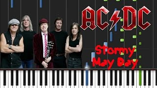 AC/DC - Stormy May Day Synthesia Tutorial