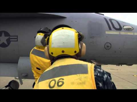 Navy Aircraft Handlers