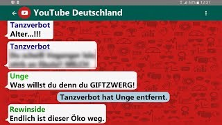Tanzverbot vs. Unge