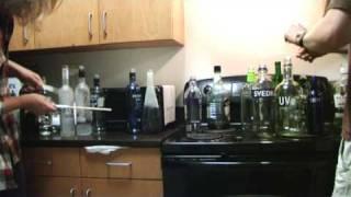 Liquor Bottle Percussion