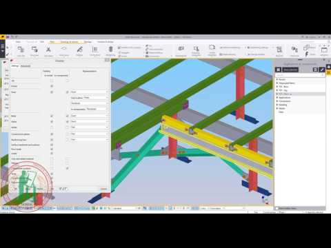 Tekla Structures - Display properties