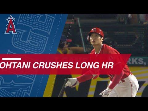 Shohei Ohtani launches a 446-foot. 2-run homer