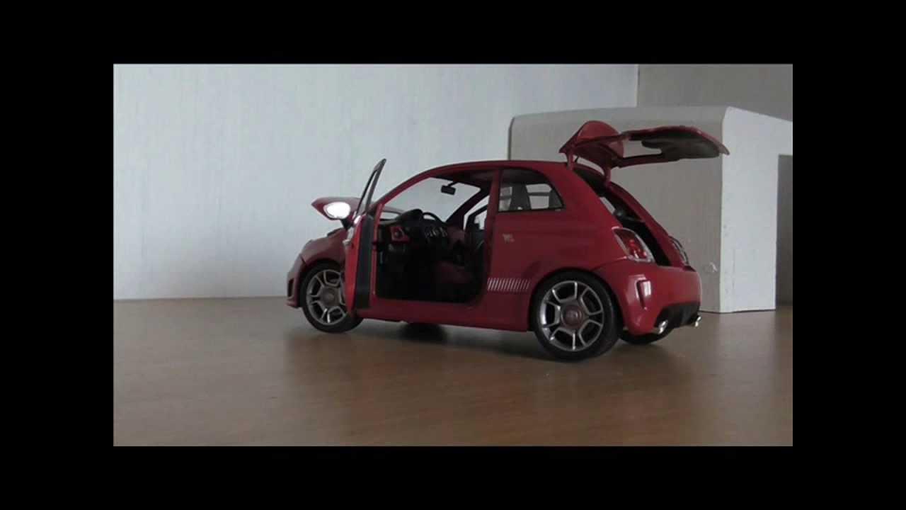 1:18 Fiat 500 Abarth by Mondo Motors (mini clip) - YouTube